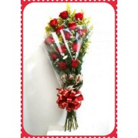 RE12 Wrapped 12 Roses