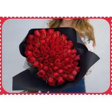 RE50 50 Roses Bouquet