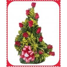 AR30 12 Roses Floral