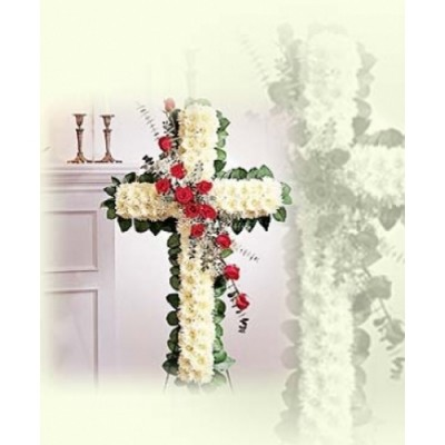 CR25 Cross with roses