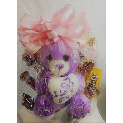 PC27 Teddy with Basket
