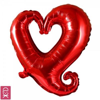 Open Heart Balloon