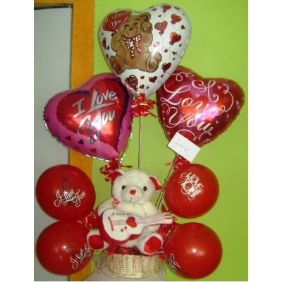 GP45 Big Balloons With Teddy