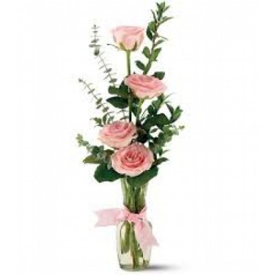 FR04 Vase with 4 Roses