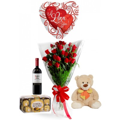 RE0040 Deluxe Bouquet of Roses