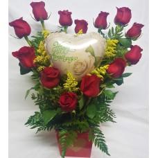 CGA50 Anniversary Heart