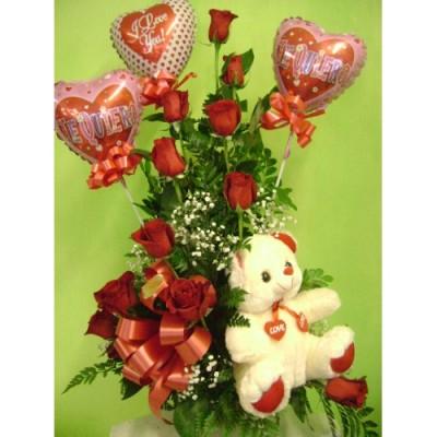 RO50 Rose flower arrangement