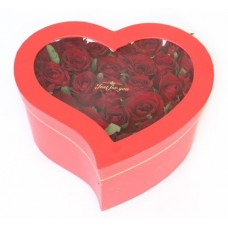 BHR10 Roses Heart Box