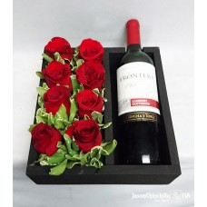 FW03 Wine and Red Roses