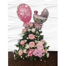 AN24 Girl Mixed Flowers